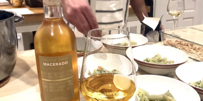 Rioja wine Macerado